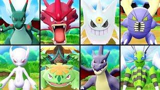 Download All SHINY Mega Evolutions in Pokémon Let's Go Pikachu & Eevee Video
