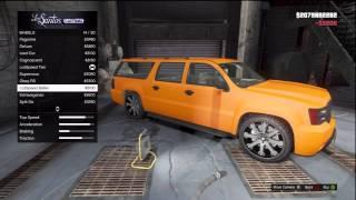 Download GTA 5 FULLY CUSTOMIZED Chevrolet Suburban (Declasse Granger) Los Santos Customs + Gameplay Video
