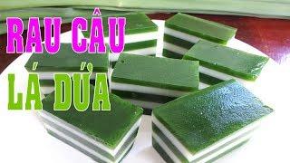Download Cách Làm Rau Câu Lá Dứa Ngon Thơm Phứt - Hồng Thanh Food Video