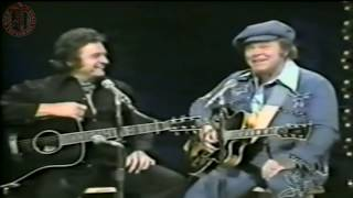 Download Roy Clark And Johnny Cash - Rock Island Line Video