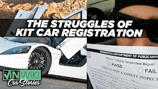 Download How hard is it to register a garage built supercar? Video