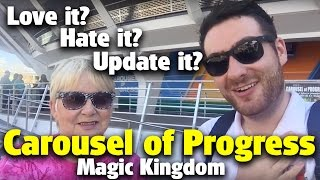 Download Carousel of Progress | Love it? Hate it? Update it? | Magic Kingdom Video