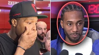 Download Kawhi Leonard Says ″I Want To Join THE LAKERS And Play WITH LEBRON″ And Kyle Lowry IS STUNNED Video
