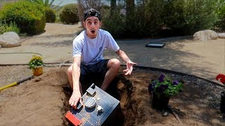 Download We Found a SECRET SAFE BURIED in our BACKYARD... (What's inside?) Video