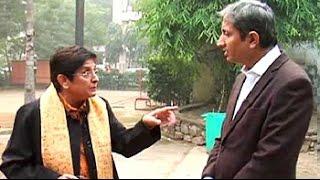 Download NDTV's Ravish Kumar interviews BJP's chief ministerial candidate Kiran Bedi Video