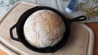 "Download How to Bake No-Knead ""Turbo"" Bread in a Skillet (ready to bake in 2-1/2 hours) Video"