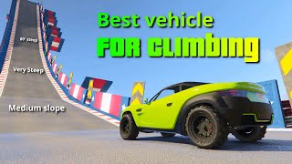 Download GTA V Which vehicle is best for climbing | The Climb Test Video