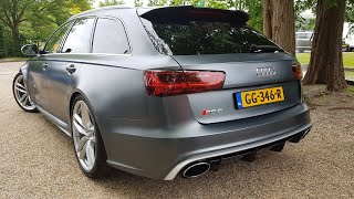 Download Audi RS6 Avant C7 - Start SOUND, Revs & Accelerations! Video