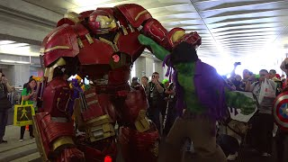 Download Hulkbuster Cosplay at NYCC 2015 by Extreme Costumes Video