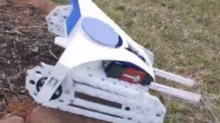 Download All Terrain Rescue Robot Using PVC Video