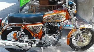 Download Modif Honda CB Jadul Mesin Tiger Bore Up Video