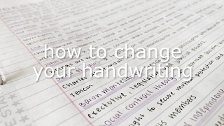 Download how to change your handwriting Video