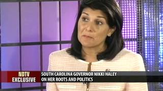 Download 'Would never disown my roots': Nikki Haley to NDTV Video