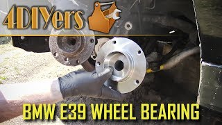 Download DIY: BMW E39 Front Wheel Bearing Replacement Video