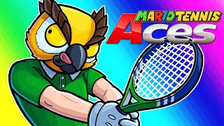Download Mario Tennis Aces Funny Moments - Vanoss's First Switch Game!! Video
