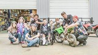 Download Travis Pastrana Gets to Spend a Day With One Special Guy Video