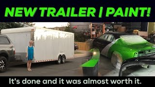 Download Painting my drift car! | Enclosed Trailer Video