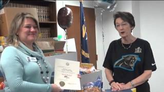 Download N.C Secretary of State Food Bank Challenge Donation Video