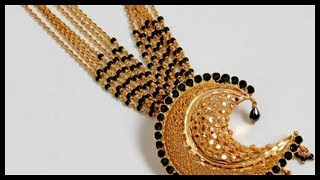 Download 10 Gold Black Beads Mangalsutra Designs Video