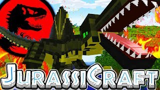 Download THE BIGGEST DINO BASE FOR A SPINOSAURUS! - MODDED MINECRAFT DINOS JURASSIC PARK #9 Video