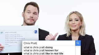 Download Jennifer Lawrence & Chris Pratt Answer the Web's Most Searched Questions | WIRED Video