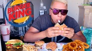 Download BURGER KING MUKBANG Triple Whopper, Onion Rings Video