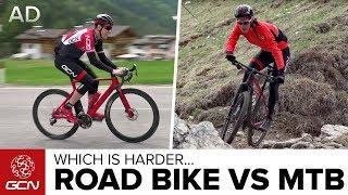 Download Road Bike Vs Mountain Bike: Which Is Harder? Video
