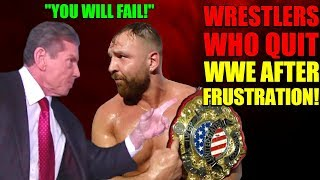 Download 15 Wrestlers Who QUIT WWE Out Of Frustration! Vince FURIOUS With Jon Moxley And CM Punk For LEAVING! Video