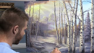 Download Birch Tree Forest | Paint with Kevin ® Video