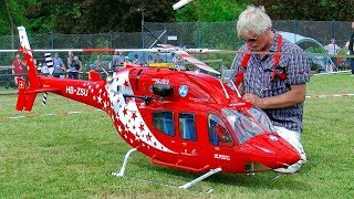 Download HUGE XXXL RC BELL-429 SCALE TURBINE MODEL HELICOPTER FLIGHT DEMONSTRATION Video