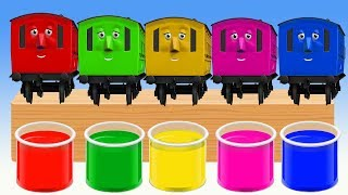 Download Learn Colors Finger Family Song with Thomas and Friends Learning Colors Nursery Rhymes For Kids! Video