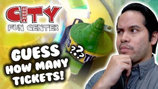 Download Guess how many tickets and jackpots we won at City Fun Center arcade! Video