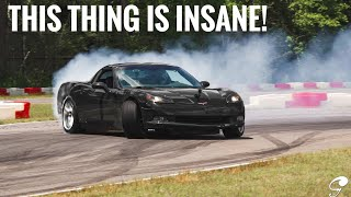Download THE BEST CAR I'VE EVER DRIFTED! 489Whp C6 Corvette Drift Review Video