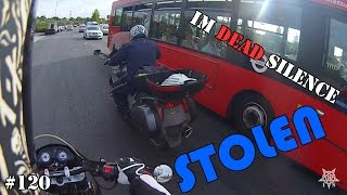 Download STOLEN Motorcycle almost crashes into me - Deadly Observations #120 Video