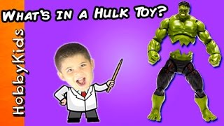 Download What's in a Toy Hulk? Marvel Toy Science Lab w/HobbyPig HobbyKidsTV Video