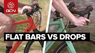 Download Flat Bar Vs Drop Bar Road Bikes | Comfort, Speed & Ease Video