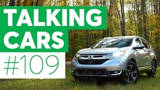 Download Talking Cars with Consumer Reports #109: Honda CR-V and Volkswagen Golf Alltrack Video