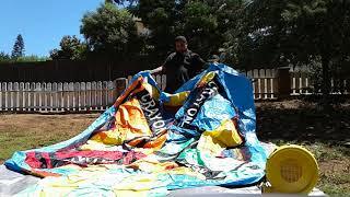 Download Cloud 9 crayon bouncy house - set up. Video