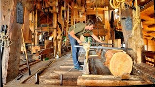 Download How A Wind Powered Sawmill Works- AMAZING Video