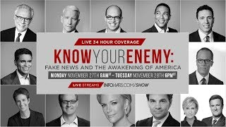 Download LIVE 34 Hour Coverage: Know Your Enemy: Fake News And The Awakening Of America - Pt.1 Video