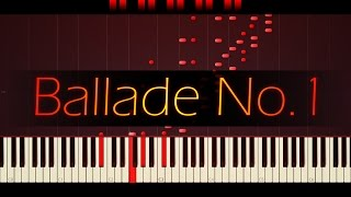 Download Ballade No. 1 in G minor, Op. 23 // CHOPIN Video