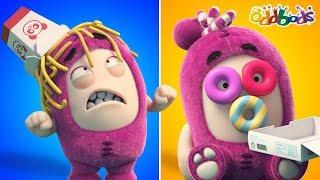 Download Oddbods | Food Fiasco #6 | Funny Cartoons For Kids | Oddbods Show Video