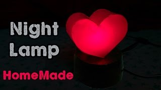 Download How to make a Night Lamp / DIY Love Night Light (Using Bottle) Video