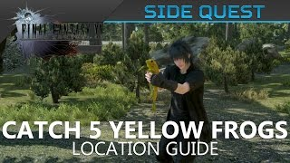Download Final Fantasy XV - Catch 5 Yellow Frogs Location Guide Video