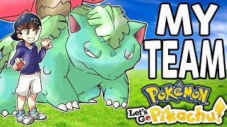 Download My Pokemon Team for Let's Go Pikachu and Eevee Video