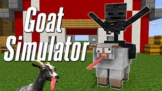 Download Monster School : GOAT SIMULATOR CHALLENGE - Minecraft Animation Video