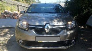 Download Замена ламп ДХО Renault logan 2013 (Заміна ламп ДХВ Рено Логан 2) Video