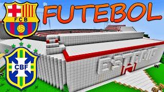 Download Minecraft City - Estadio de Futebol Video