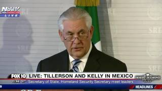 Download WATCH: President Donald Trump's Top Cabinet Members In Mexico Talking Illegal Immigration Video