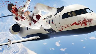 Download FLY THE PRIVATE JETS INTO THE SNIPERS! (GTA 5 Funny Moments) Video